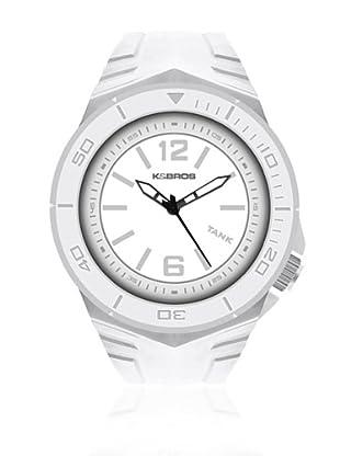 K&BROS Reloj 9566 (Blanco)