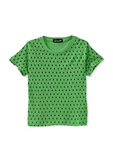 A for Apple Rat T-Shirt with Lady Bug Print (Green)