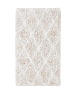 Bella Letto Diamond Scroll Rug (White/Ivory)