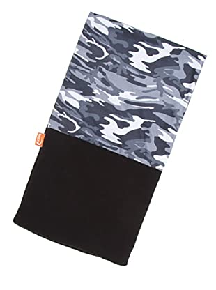 Wind Extreme Tubular Camouflage Black Microfibra Y Polar Multicolor Única