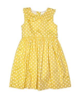 Rachel Riley Vestido Polka Dot (Amarillo / Blanco)