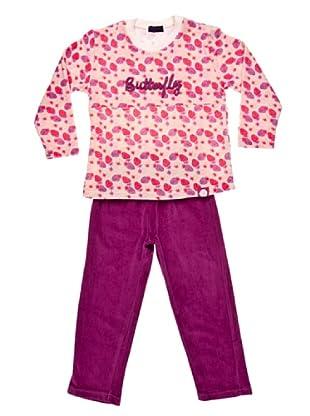 Blue Dreams Pijama Niña Infantil Tundosado (morado)