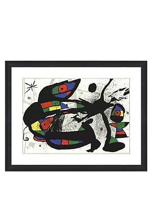 Joan Miró: Original Lithograph, 1973