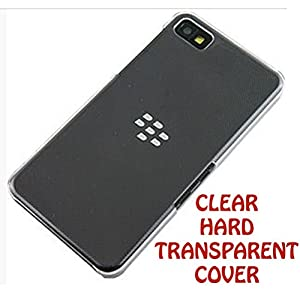 Desireonline Crystal Clear Transparent Hard Back Case Cover for Blackberry Z10
