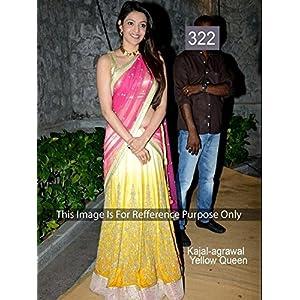Ninecolours Kajal Agarwal Bollywood Replica Lehenga