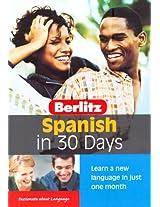 Spanish Berlitz in 30 Days