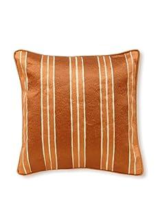 Palecek Stripe Pillow (Orange)