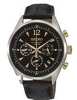 Seiko Analog Multi-Color Dial Men's Watch - SSB071P1
