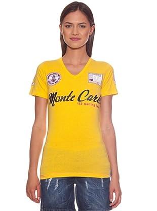 Geographical Norway Camiseta Ilana (Amarillo)