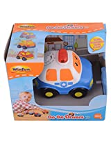 Winfun Police Car, Multi Color