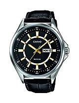 Casio Enticer  Analog Black Dial Men's Watch - MTP-E108L-1AVDF( A967)