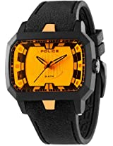 Police Analog Yellow Dial Men's Watch - PL13838JPB/04