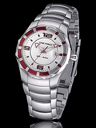Time Force TF2956L04M - Reloj Señora quarzo blanco / magenta