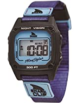 Freestyle Freestyle Unisex 10019183 Shark Clip Digital Display Japanese Quartz Purple Watch - 10019183