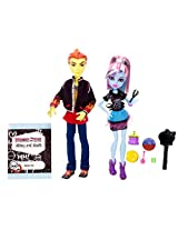 Monster High Home Ick Abbey Bominable and Heath Burns (2 Pack)