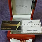 Chairos Alpine Chronograph,Limited EditionTwo-Tone,IPG Gold Plating,Water Resistant Sapphire