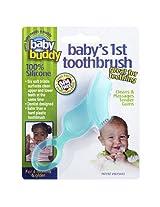 Baby Buddy Baby's 1st Toothbrush, Green