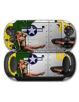 Sony PS Vita Skin WWII Bomber War Plane Pin Up Girl by WraptorSkinz