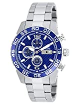 Invicta Men's 21376 Specialty Analog Display Quartz Silver-Tone Watch