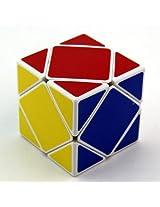 Shengshou skewb cube White + Maru Lube 10ml + Cubelelo Cube Pouch COMBO Offer