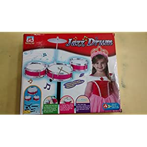 AndAlso Jazz Drum Musical Toy Set