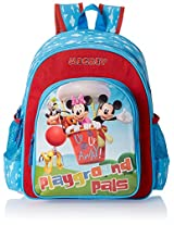 Disney Polyester 35.56 cms Children's Backpack (AGKRBG1047494)