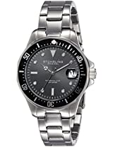 Stuhrling Original Aquadiver Analog Black Dial Men's Watch - 664.01