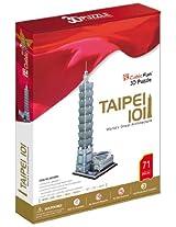 "CubicFun 3D Puzzle ""Taipei 101 - Taiwan"""