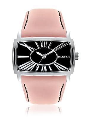 K&Bros  Reloj 9147 (Negro / Rosa)