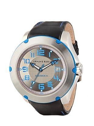 ARMAND BASI A0811G04 - Reloj de Caballero movimiento de cuarzo con correa de piel Negra