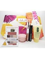 NEW 2015 Clinique 7 Pcs Makeup Skincare Gift Set with Moisture Surge & More! ($70 Value)