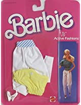 "Barbie ""B"" Active Fashions Style #2186 W Pair Of Pants, Top & Pair Of Shoes (1985 Mattel Hawthorne)"