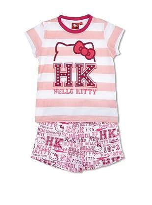Licencias Pijama Hello Kitty (Blanco / Rosa)