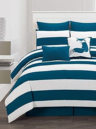 Duck River Textiles Delia Stripe 8-Piece Comforter Set