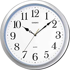 CASIO (カシオ) 掛け時計 アナログ IQ-48-8JF アナログタイプ
