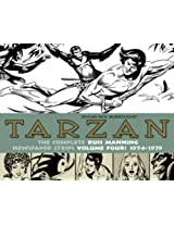 Tarzan: (1974-1979) Volume 4: The Complete Russ Manning Newspaper Strips (The Library of American Comics)
