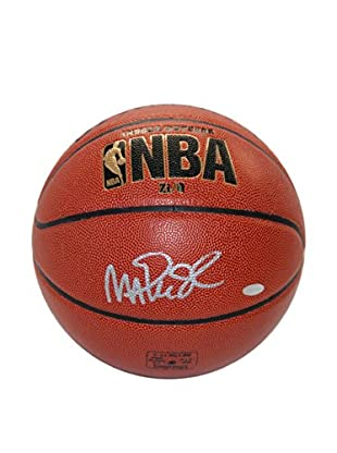 Steiner Sports Memorabilia Magic Johnson Signed NBA Basketball With Case