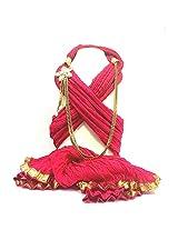 NJS Women's Stole (#JST 29_Pink Fuschia_Free Size)