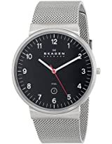 Skagen Analog Black Dial Men's Watch - SKW6051