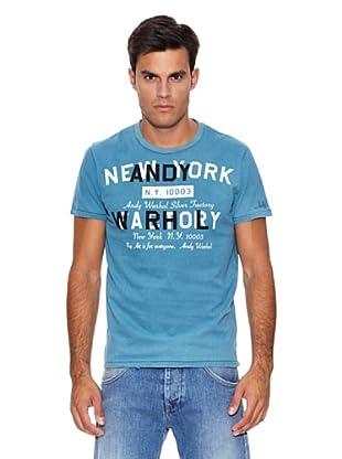 Pepe Jeans London Camiseta Yorker (Azul)