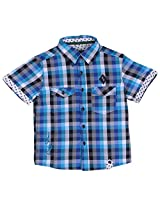 Calculus Boys' Regular Fit Shirt (RKG-Boys-075, Multicolor, 10 - 11 years)