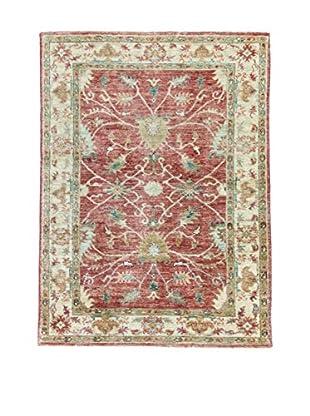 Eden Teppich   Agra 107X144 mehrfarbig