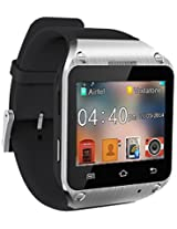 Spice Black Dual-SIM Smart Pulse Smartwatch