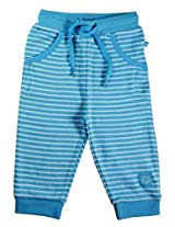 Babeez Baby Cotton Straight Fit Trousers (K1Bg003_3.Turq _Turq _3 - 6 Months)