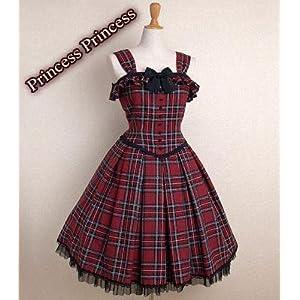 (プリンセス プリンセス) ロリータ☆ゴスロリ★超キュートお嬢様クラッシックワンピドレス