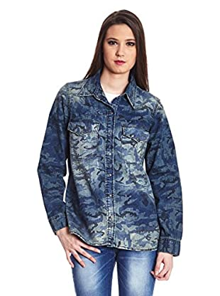 Heartless Jeans Camisa Mujer Camou