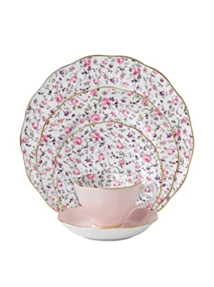 Royal Albert Rose Confetti 5-Piece Place Setting