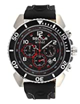 Sector Black Chronograph Men Watch R3271603225
