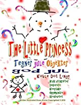 The Little Princess: Tegner Jule Objekter God Jul Koble Dot Linje Bruk Utskrifter Dekorere Keepsake Oppmuntre Kreativitet