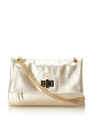 Pietro Alessandro Women's The Marluy Shoulder Bag (Champagne)